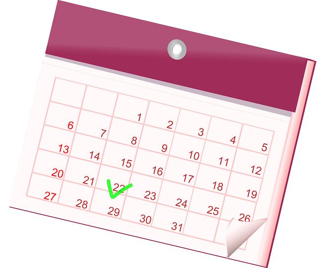 Calendar. Month view