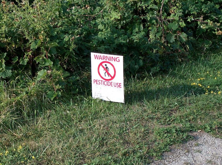 Осторожно, пестициды