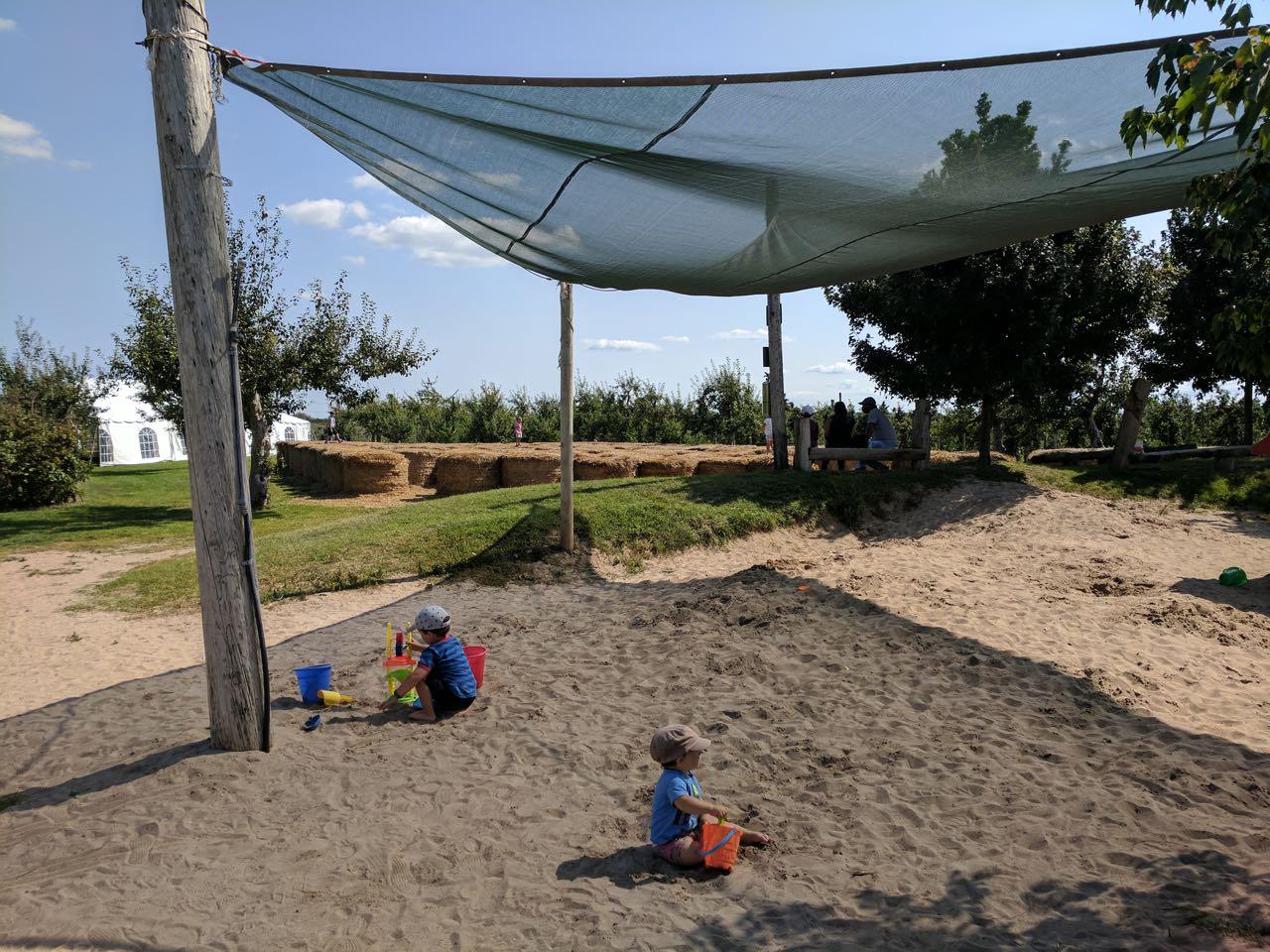 песочная площадка