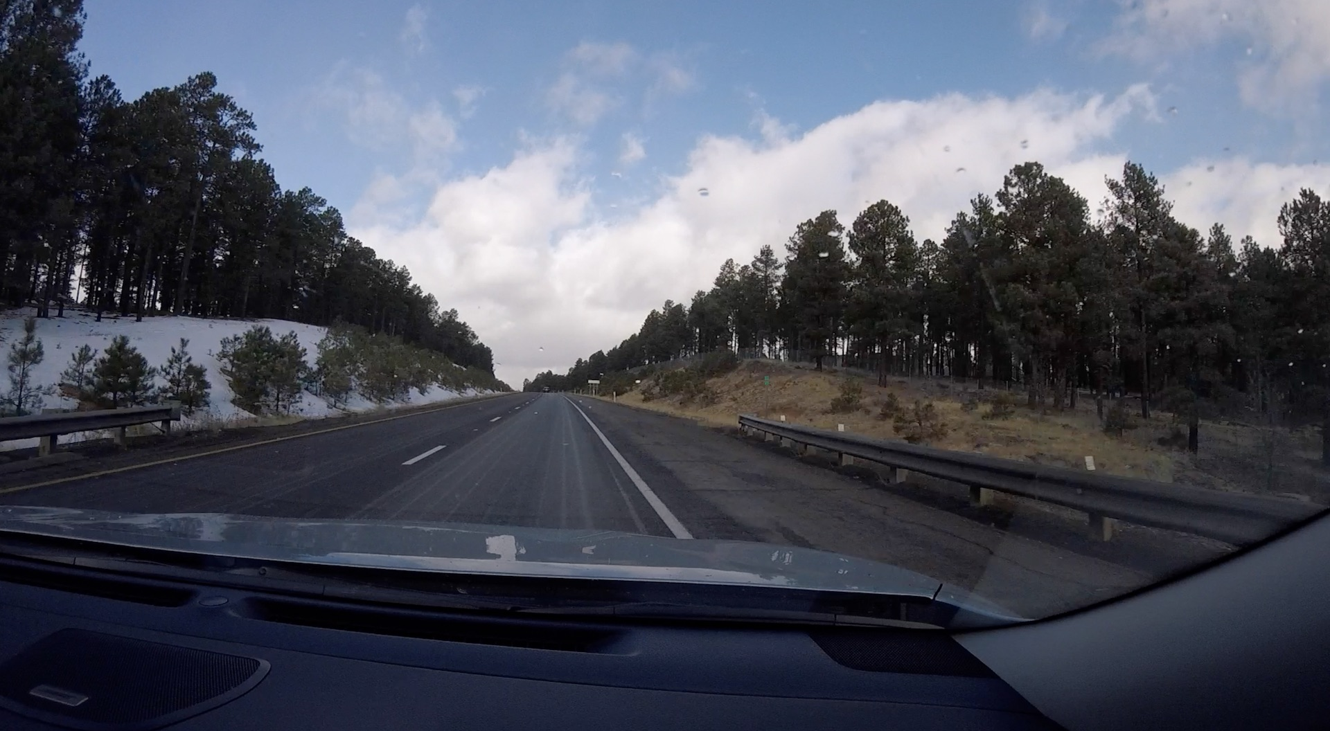 Дорога на каньон