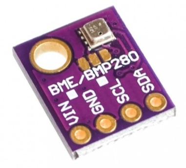 bme280 для температуры, влажности и атмосферного давления