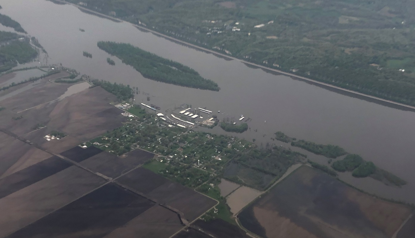 Наводнение в Сент-Луисе